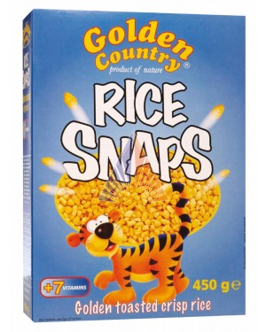 GOLDEN COUNTRY RICE SNAPS 12 X 450G
